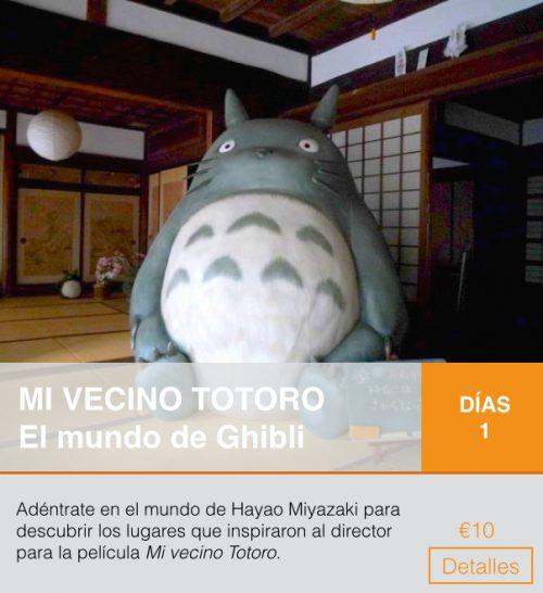 Itinerario totoro
