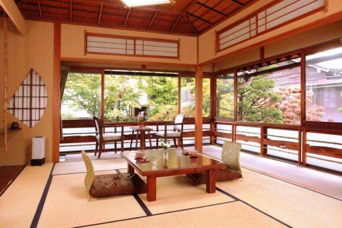Imagen de alojamiento tradicional en Japón